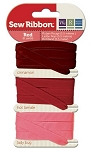We R Memory-Sew Easy Ribbon Set-Red :)