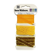 We-R-Memory Keepers - Sew Ribbon Set - Gold