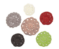 We-R-Memory Keepers - Yuletide Collection - Crochet Doilies