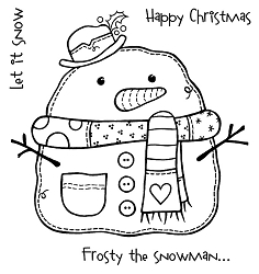 Woodware Craft - Clear Stamp - Frosty