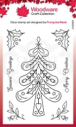 Woodware Craft - Clear Stamp - Nordic Tree