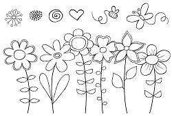 Woodware Craft - Clear Stamp - Fresh as a Daisy