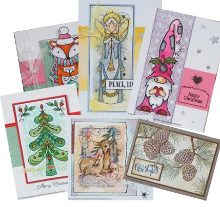 Woodware - New Christmas stamps