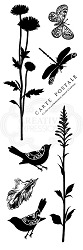 Woodware Craft - Clear Stamp - Natural Elements