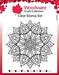 Woodware Craft - Clear Stamp - Mandala One