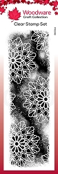 Woodware Craft - Clear Stamp - Cosmic Background