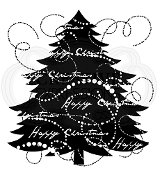 Woodware Craft - Clear Stamp - Fir Tree