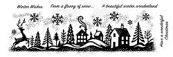 Woodware Craft - Clear Stamp - Winter Wonderland