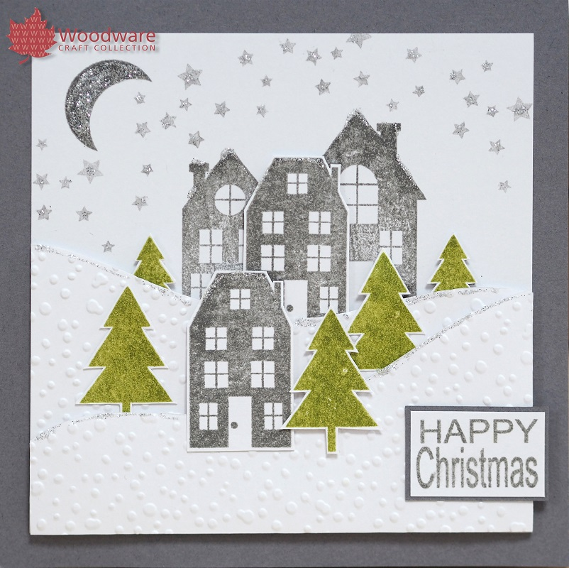 Woodware - new Festive clear stamps from the UK