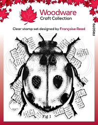 Woodware Craft - Clear Stamp - Ladybird
