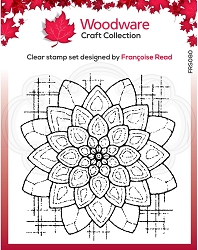 Woodware Craft - Clear Stamp - Blossom