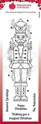 Woodware Craft - Clear Stamp - Nutcracker