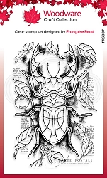 Woodware Craft - Clear Stamp - Stag Beetle