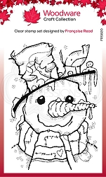 Woodware Craft - Clear Stamp - Mr Frosty