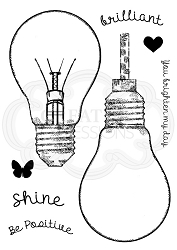 Woodware Craft - Clear Stamp - Fill Me Lightbulb