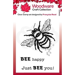 Woodware Craft - Clear Stamp - Little Bee