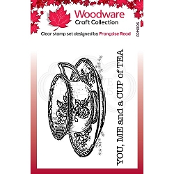 Woodware Craft - Clear Stamp - Cup of Tea