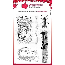 Woodware Craft - Clear Stamp - Marks