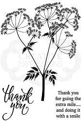 Woodware Craft - Clear Stamp - Cow Parsley