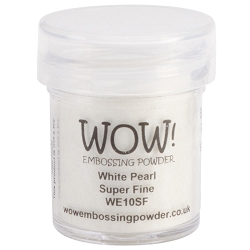 WOW! - Embossing Powder - White Pearl Super Fine (15ml)