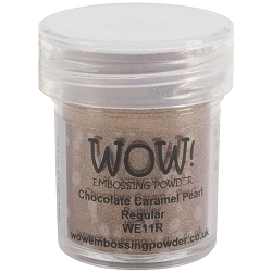 WOW! - Embossing Powder - Chocolate Caramel Pearl (15ml)