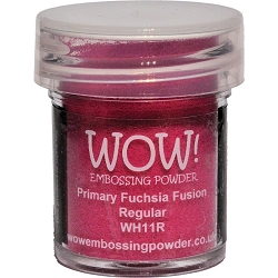 WOW! - Embossing Powder - Primary Fuchsia Fusion (15ml)