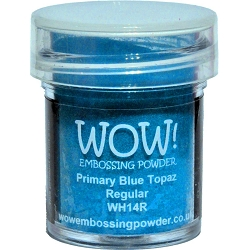 WOW! - Embossing Powder - Primary Blue Topaz (15ml)