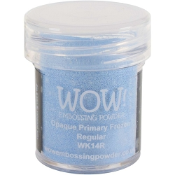 WOW! - Embossing Powder - Opaque Primary Frozen (15ml)