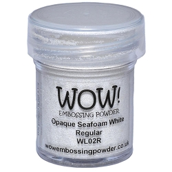 WOW! - Embossing Powder - Opaque Seafoam White (15ml)