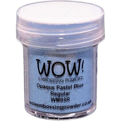 WOW! - Embossing Powder - Opaque Pastel Blue (15ml)