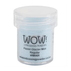 WOW! - Embossing Powder - Pastel Glacier Mint (15ml)