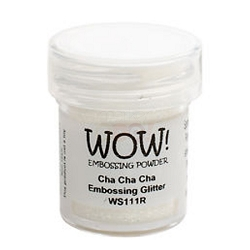 WOW! - Embossing Powder - Cha Cha Cha Glitter (15ml)