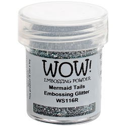 WOW! - Embossing Powder - Mermaid Tails Glitter (15ml)