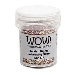WOW! - Embossing Powder - Turkish Nights Glitter (15ml)