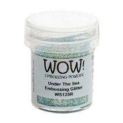 WOW! - Embossing Powder - Under The Sea Glitter (15ml)