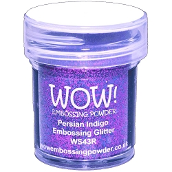 WOW! - Embossing Powder - Persian Indigo Glitter (15ml)