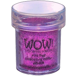 WOW! - Embossing Powder - Pink Fizz Glitter (15ml)
