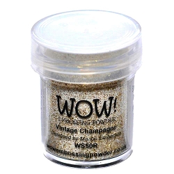 WOW! - Embossing Powder - Vintage Champagne Glitter (15ml)