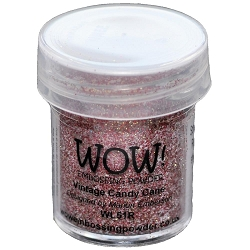 WOW! - Embossing Powder - Vintage Candy Cane Glitter (15ml)