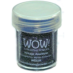 WOW! - Embossing Powder - Vintage Amethyst Glitter (15ml)