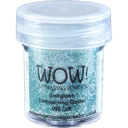 WOW! - Embossing Powder - Seaglass Glitter (15ml)