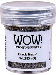 WOW! - Embossing Powder - Black Magic (15ml)