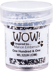 WOW! - Embossing Powder - One Hundred & One (Ultra High) by Marion Emberson (15ml)