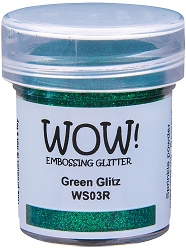 WOW! - Embossing Powder - Green Glitz (15ml)