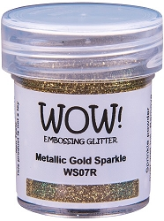 WOW! - Embossing Powder - Metallic Gold Sparkle (15ml)