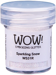 WOW! - Embossing Powder - Sparkling Snow (15ml)