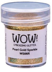 WOW! - Embossing Powder - Pearl Gold Sparkle (15ml)