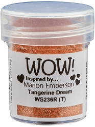 WOW! - Embossing Powder - Tangerine Dream by Marion Emberson (15ml)
