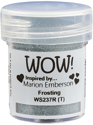 WOW! - Embossing Powder - Frosting by Marion Emberson (15ml)
