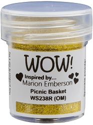 WOW! - Embossing Powder - Picnic Basket by Marion Emberson (15ml)